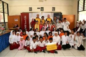 Sun Life Financial Indonesia provided social contributions