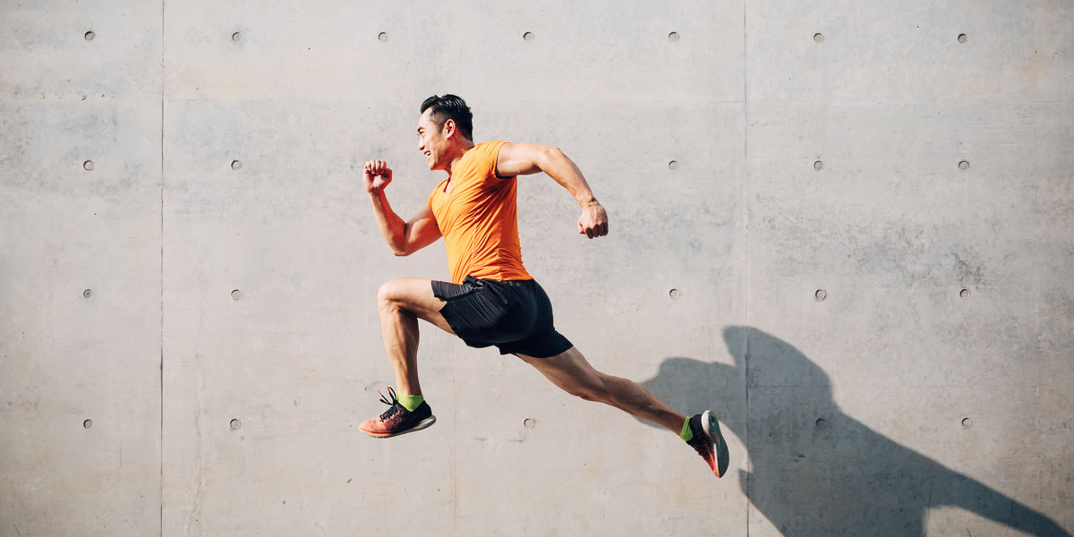Keep your body fit and mind healthy through running